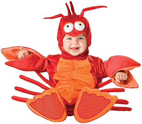 Toddler Lil Lobster Costumes - Lil Lobster Baby Infant Costume - Infant Large