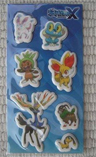 3DS ポケットモンスターX ゲオ特典 オリジナルもこもこシールの商品画像