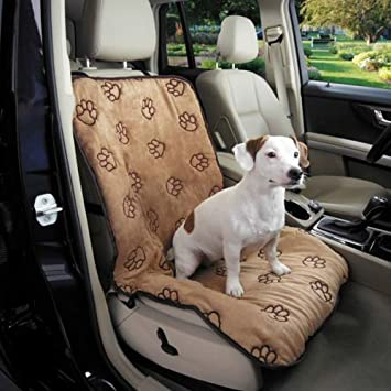 Amazon.com : Cruising Companion Dog Seat Cover, Single Cushioned Car ...