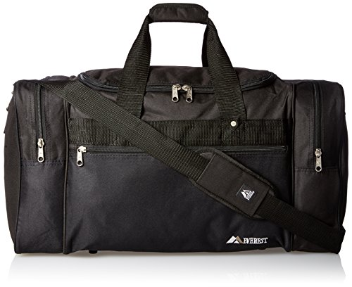 Everest Sports Duffel – Large, Black, One Size Review