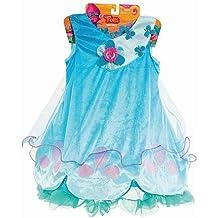 Trolls, Just Play, Princess Poppy Dress Girls Size 4-6