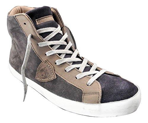Philippe Model , Herren Sneaker Grau Grigio, Marrone
