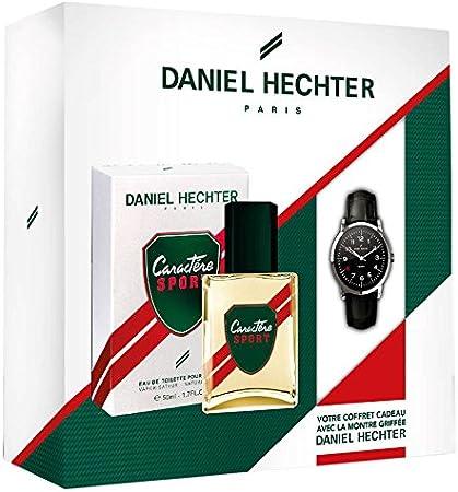 Daniel Hechter - Estuche de colonia para hombre Caractère Sport de 50 ml y reloj de marca de Daniel Hechter: Amazon.es: Belleza