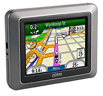 Garmin Zumo  Motorcycle Gps With European Map Bluetooth   Touchscreen Waterproof
