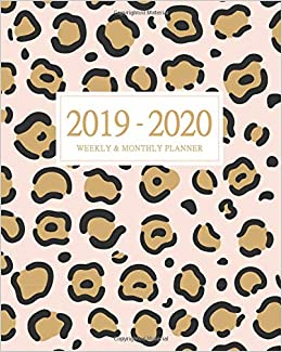 Amazon.com: 2019-2020 Weekly and Monthly Planner: Daily ...