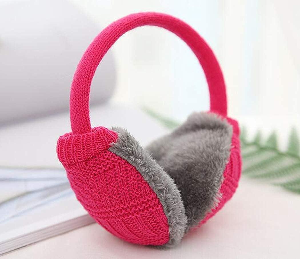 WarmCareCare Unisex Headband Lovely Earmuffs Knitted Woollen Earmuffs Outdoor EarMuffs Warmers