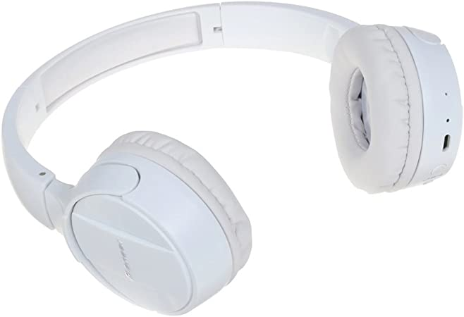 Pioneer SE-MJ553BT-W - Auriculares inalámbricos Bluetooth externos para smartphones Android, Windows y Apple, estéreo, con micrófono, 10 Hz a 22000 Hz, Blanco: Pioneer: Amazon.es: Electrónica