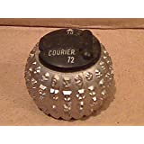 IBM SELECTRIC TYPEWRITER Font Ball Head Font Size 10 IBM COURIER 72 COURIER 72 10-Pitch IBM Selectric II Type Element by COURIER 72 10-Pitch