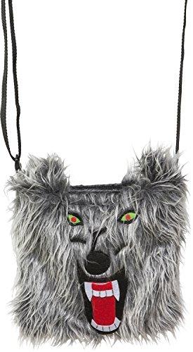 Fasching Halloween Plusch Tasche Wolf Amazon De Spielzeug