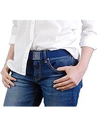 Beltaway² SQUARE BUCKLE- Beltaway's Flat Buckle Stretch No Show Belt