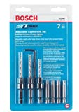 Bosch CC2460 Clic-Change 7-Piece Phillips Bit and Countersinking Set