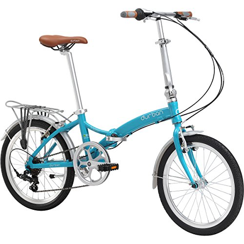 For Sale! Durban Bike 20-Inch Wheel Metro Special Edition Folding Bike, Turquoise