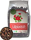 Hibiscus Flowers Tea | 15 oz - 425 g, Bulk | 100% Natural Hibiscus Flowers | Extra Grade, Herbal Tea | Loose Leaf | by Eat Well Premium Foods