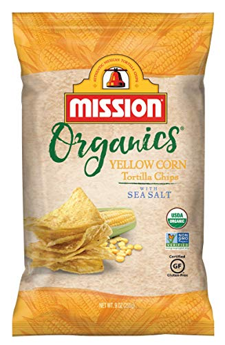 - Mission Organics Yellow Corn Tortilla Chips, 9 oz.