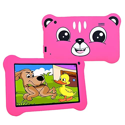 Kids Tablets with Andriod 9.0 Tablet for Kids 3 to 6 with Case Included 2GB+16GB 7 Inch WiFi Parental Controls Friendly