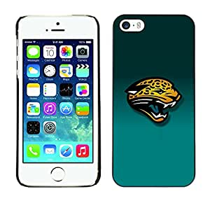 TaiTech / Prima Delgada SLIM Casa Carcasa Funda Case Bandera Cover Armor Shell PC / Aliminium - Tiger Panther - iPhone 5 / 5S