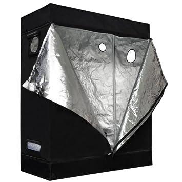 24u0026quot;x48u0026quot;x60u0026quot; Mylar Hydroponics Indoor Garden Grow Tent Dark Room ...  sc 1 st  Amazon.com & Amazon.com : 24