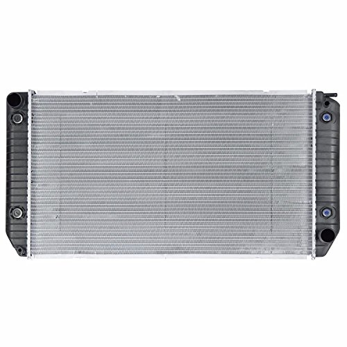 Klimoto Brand New Radiator fits Chevrolet P30 GMC P3500 1994 1995 1996 1997 6.5L V8 Diesel Thick 2 Row KLI1809