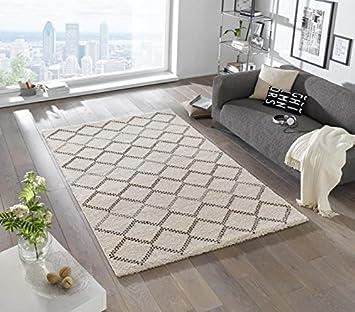Mint Rugs Design Deep Pile Teppich Nouveau Kunstfaser Amazon De