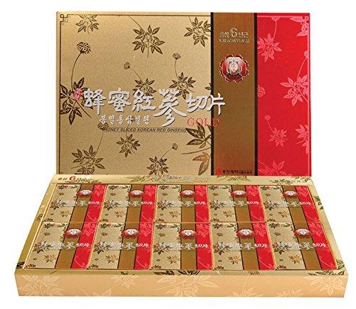 [Health Food] Jungsamdang Korean Honeyed Red Ginseng Roots Slice 20g 10pcs Set by Rinovill