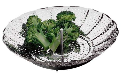 Amco Collapsible Steamer, Stainless Steel by Amco - Amco Stainless Steel Steamer