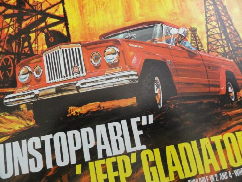 1965 Jeep Gladiator Truck Sales Brochure