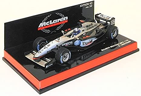 Minichamps F1 1/43 Scale - 530034305 McLAREN MERCEDES D.COULTHARD ...