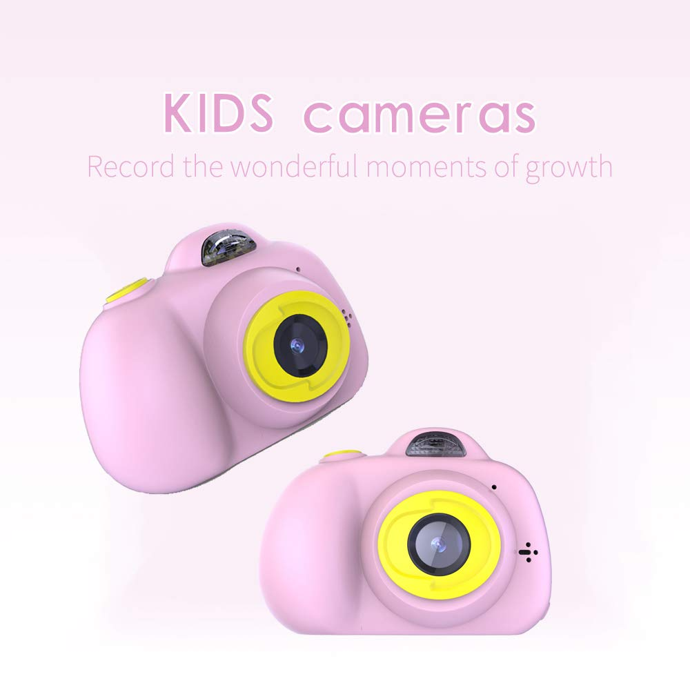 RONSHIN Kids Camera, K9 2 inch 1280 x 720 HD Motion Digital Camera Children Toy Camera by RONSHIN