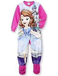 Disney Baby Sofia the First Toddler Girl's Fleece Footed Pajamas, Sizes 2T-4T
