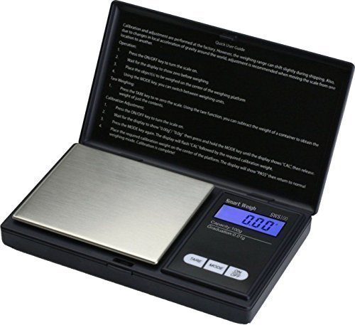 Digital Scale Portable, Light-Weight Professional Multi-functional Scale 500g x 0.1g with Back-lit LCD Display by Trimming Shop
