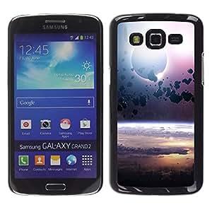 TECHCASE**Cubierta de la caja de protección la piel dura para el ** Samsung Galaxy Grand 2 SM-G7102 SM-G7105 ** Asteroid Belt Planet Space Cosmos Universe
