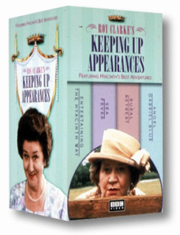 Keeping Up Appearances - Giftset 1 (Rural Retreat/Sea Fever/Angel Gabriel Blue/Entertaining the Hyacinth Way) [VHS]
