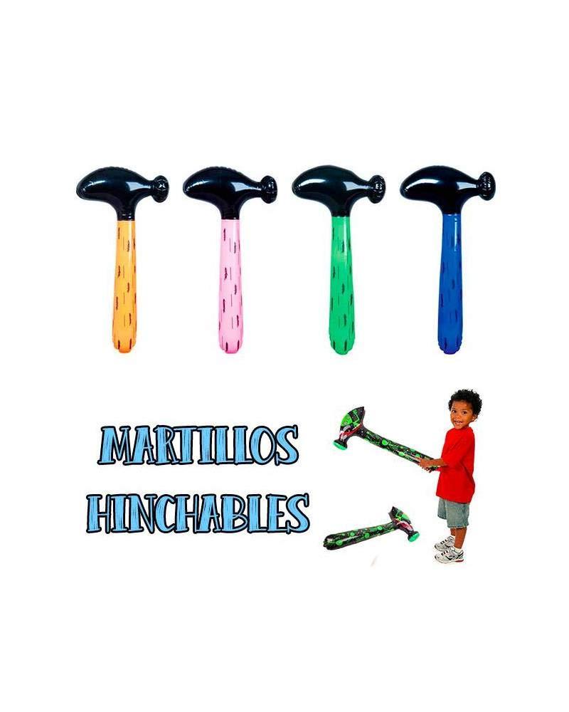 10 martillos hinchables artículos de Fiesta: Amazon.es: Juguetes y ...