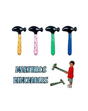 10 martillos hinchables artículos de Fiesta: Amazon.es ...