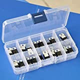 Generic 21 Types Positive & Negative Regulator IC Assorted Kit.