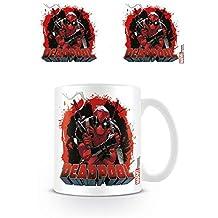 Deadpool Photo Coffee Mug - Smoking Gun (4 x 3 inches)