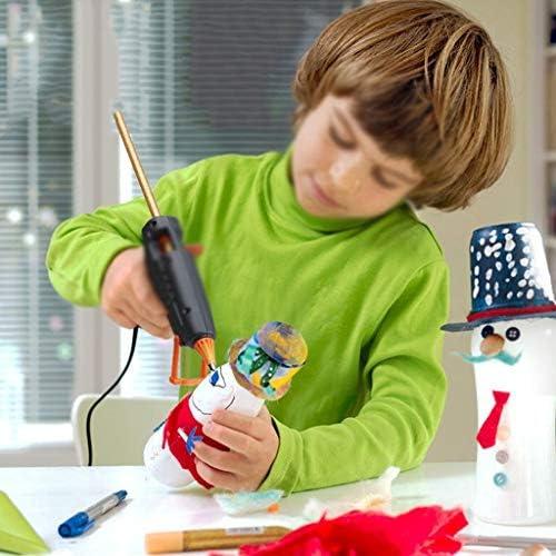 Minmin 30ホットメルト接着剤スティック、直径11ミリメートル、高粘度カラフルな粘着テープ、DIY手動修復ツール、クリスマスの飾り ミニ (Size : 30 PCS)