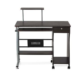 Nilkamal Gamma Computer Table (Walnut)