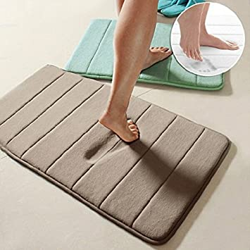 40x60cm Coral Velvet Memory Foam Teppich Badezimmer Mat weiche ...