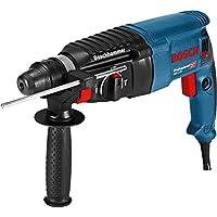 Bosch Professional 06112A3000 Bohrhammer GBH 2-26, Tiefenanschlag, Zusatzhandgriff, 830 Watt-Motor, SDS-Plus Werkzeugaufnahme, Handwerkerkoffer, W, 230 V