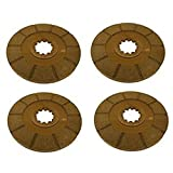 Pack of 4 Brake Discs Made To Fit Case-IH Tractor Models 706 756 766 806 826 +