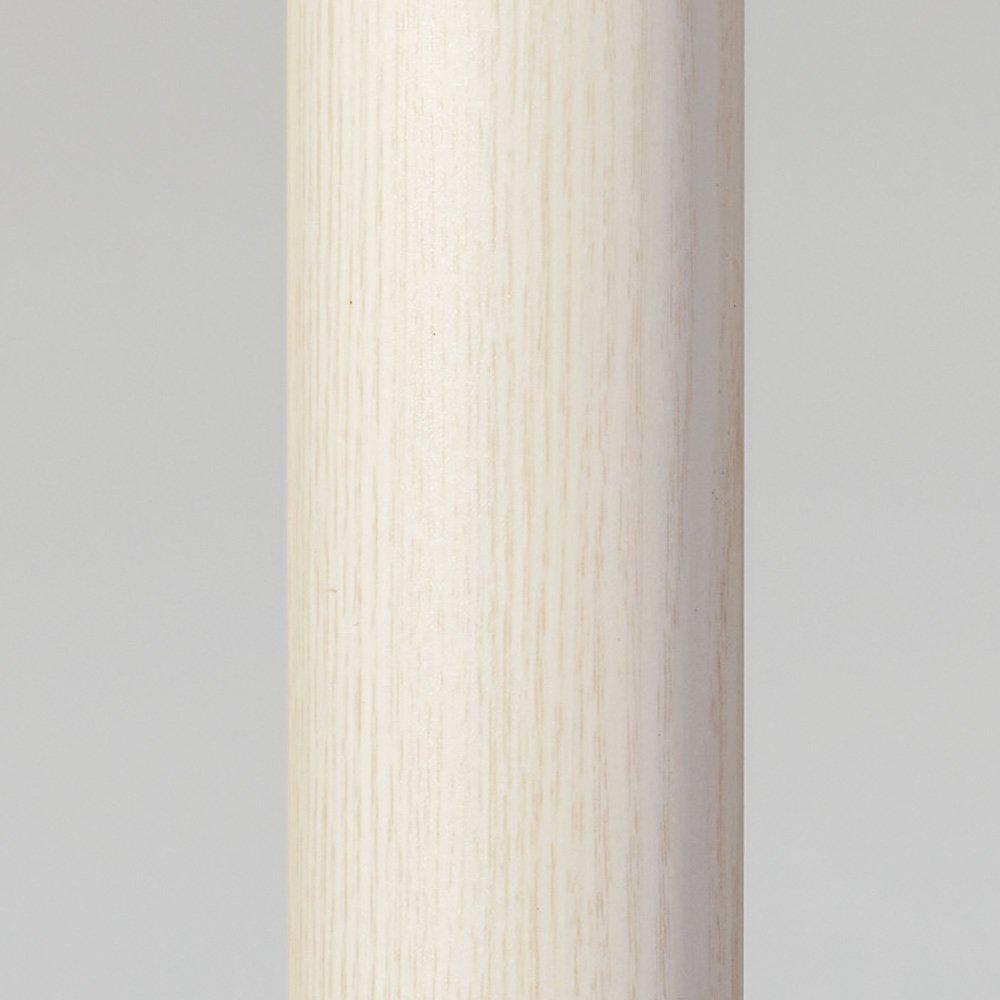取付簡単窓枠突っ張り物干し 伸縮竿2本付き 653005(サイズはありません ア:ホワイトモクメ) B07M64C9HS ア:ホワイトモクメ