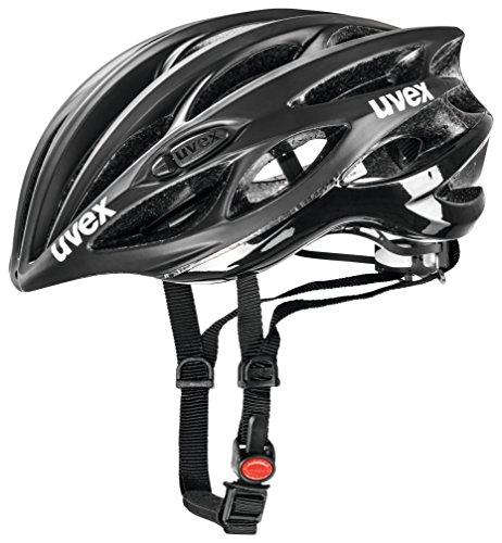 - 2015 Uvex Unisex Race 1 Helmet Black Matte / Shiny Large / X-Large 55-59cm