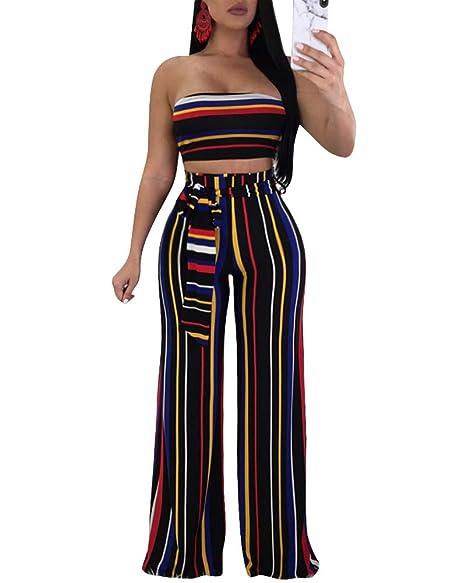 Amazon.com: Trajes sexy de 2 piezas para mujer – Trajes de ...