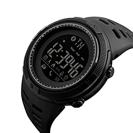 Amazon.com: Mastop Men Outdoor Sport Smart Watch Fashion Digital Watches Fitness Tracker Bluetooth ios 4.0 Android Waterproof Wristwatch: Cell Phones & ...