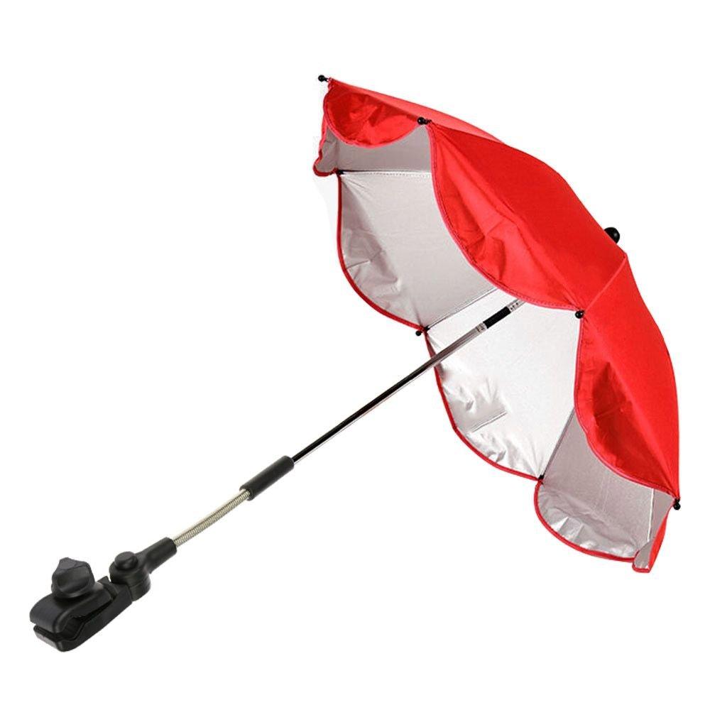 MMRM B/éb/é Enfants Poussette Parasol Landau Ombrelle l/épreuve du vent Parapluie Violet