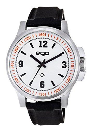 Maxima Ego Analog White Dial Men's Watch - (E-00948PAGC)