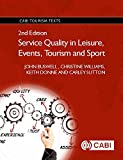 img - for Service Quality in Leisure, Events, Tourism and Sport (CABI Tourism Texts) book / textbook / text book