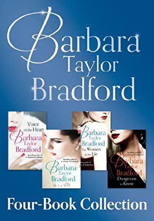 book cover of Barbara Taylor Bradford\'s 4-Book Collection