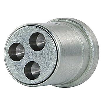 SP - Sistema antirrobo para ruedas con fijación mediante tornillos (conjunto de 4 tornillos y 1 llave): Amazon.es: Coche y moto
